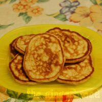 Sugar-free apple pikelets