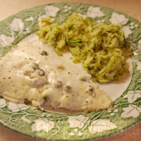 Creme fraiche fish (adult recipe)