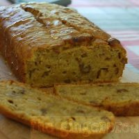 Banana and butternut squash loaf