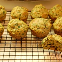Spinach muffins