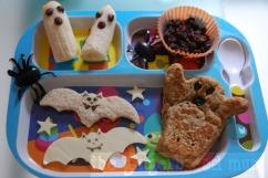Spooky tasting plate