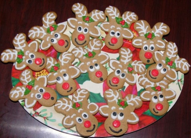 Reindeer Cookies by mommy2owen on Cake Central