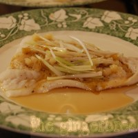 Cantonese-style steamed fish (family recipe)