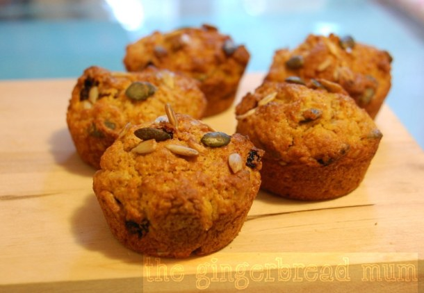 Spiced carrot muffins | thegingerbreadmum