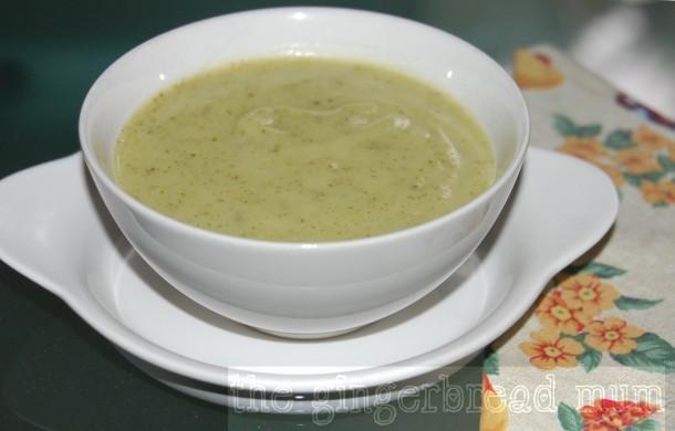courgette (zucchini) soup