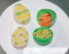 Easter egg snacking plate