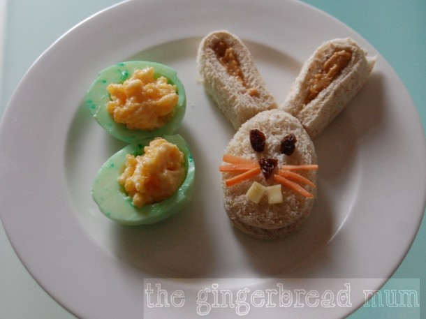 Cute Lunches Easter Bunny