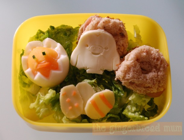 Cute Lunch: Easter Chicks