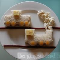 Cute lunches: choo choo