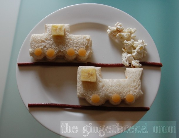 cute lunches choo choo