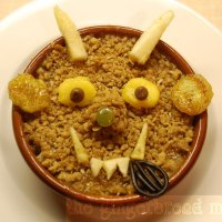 Cute lunches: Gruffalo crumble