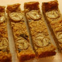 Baked porridge slice (sugar-free)