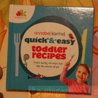 Review: Annabel Karmel's Quick and Easy Toddler Recipes