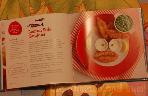 Annabel Karmel's lemon sole goujons
