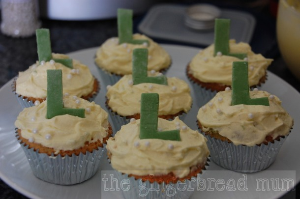 dairy-free lime cupcakes