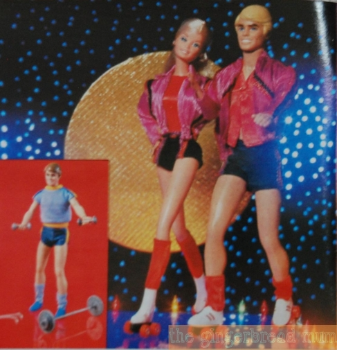 Vintage Mattel toy catalogue - roller skating Ken and Barbie