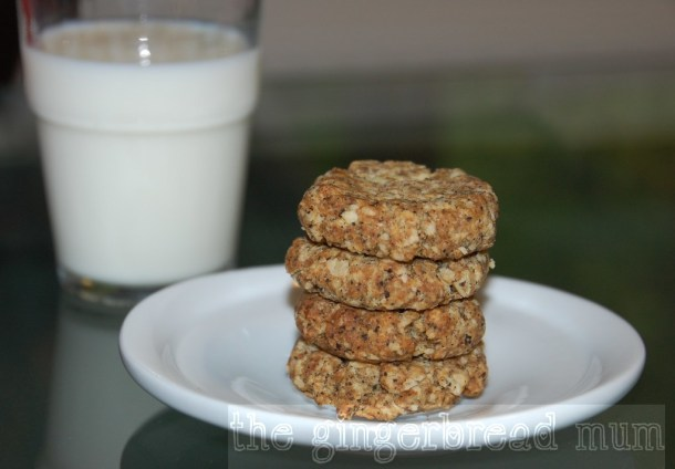 Oatmeal oaty biscuits