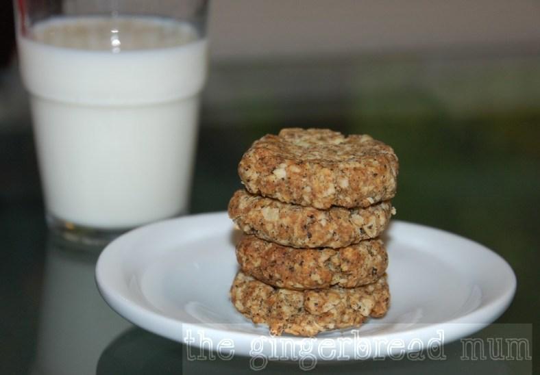 Oatmeal oaty biscuits