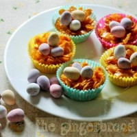 Refined sugar-free Easter nests