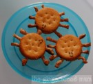 Ritz spider crackers