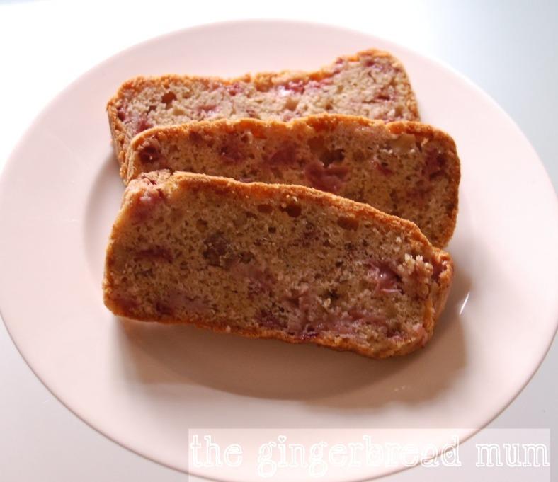 strawberry loaf