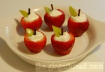 Yogurt Week: Yogurt-filled strawberry apples