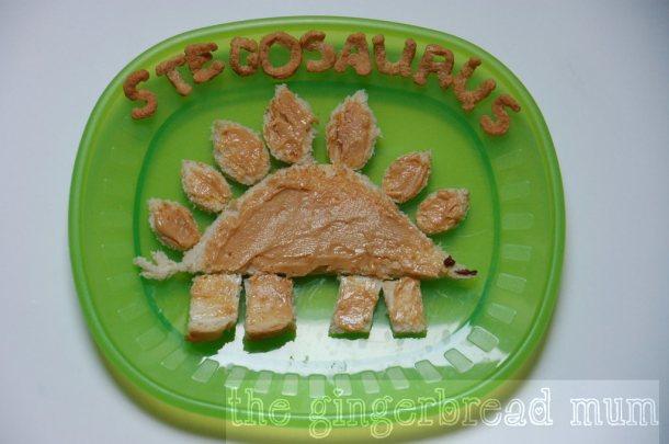 stegosaurus toast