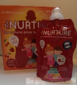 I Mune Nurture fruity water pouch
