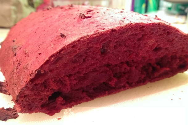 My beetroot bread failure