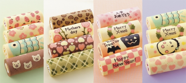 cute Swiss roll silicon sheets