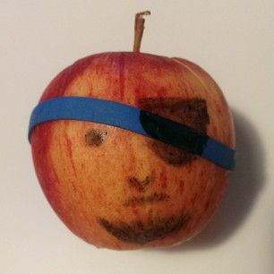 pirate apple - aarrr!