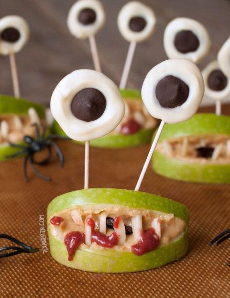 TexanErin Baking: Halloween Monster Mouths