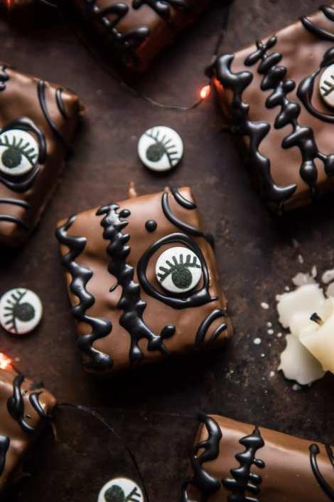Half Baked Harvest: Hocus Pocus Spellbook Brownies